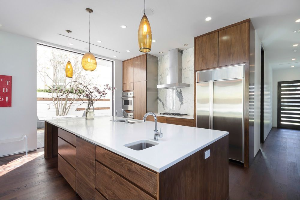 Modern Kitchen Quartz Countertops white quartz countertops chicago